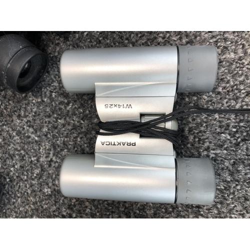 21 - 6 Sets of various binoculars...