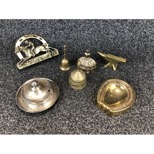3 - Collection of assorted brass