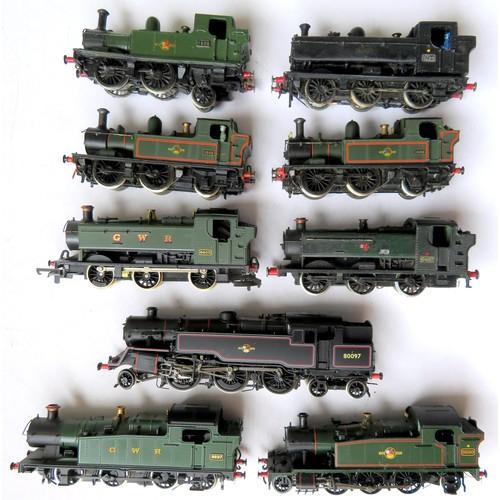 157 - BACHMANN / K's KITBUILT / AIRFIX / MAINLINE / LIMA etc. 00 gauge Steam Locos comprising: Kit-built 0...