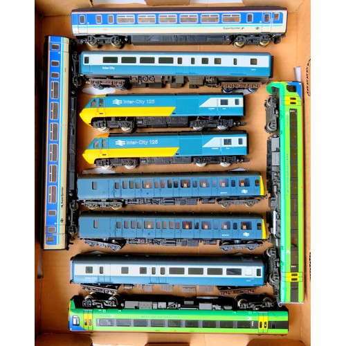 161 - HORNBY / LIMA / BACHMANN DMU's comprising: Hornby 125 Power and Trailer Cars with 2 x Jouef Intercit...