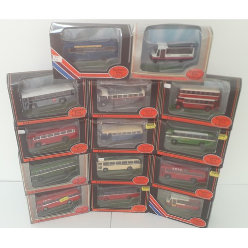 280 - EFE BUSES AND COACHES to include 23307 AEC RF Class Metrobus. Mint in Excellent to Mint Boxes (14)...