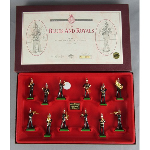 244 - BRITAINS SOLIDERS 5293 The Blues And Royals 12 Piece Band Set. Mint in an Excellent to Mint Box....