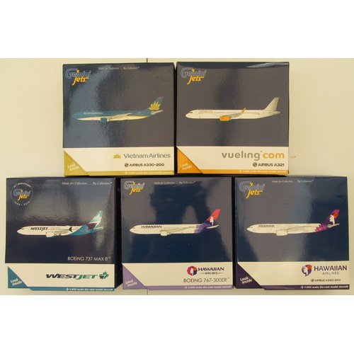 "10 - GEMINI JETS 1:400TH scale Aircraft to include Airbus A330-200 ""Vietnam Airlines"", Airbus A321 ""Vueli..."
