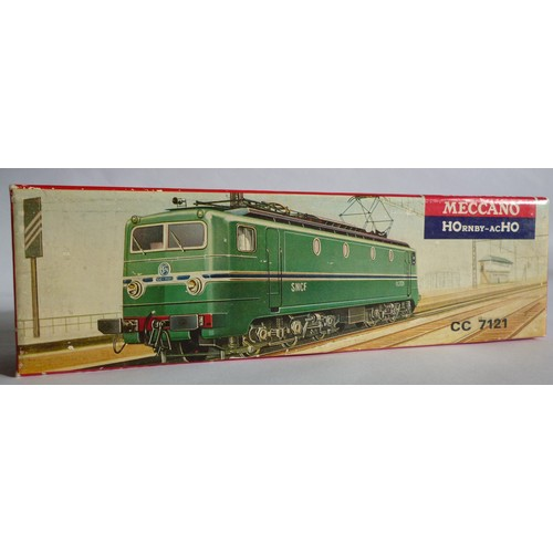 46 - HORNBY ACHO 6372 CC7121 Electric Loco. Excellent to Mint inc. Picture Box with Instruction....