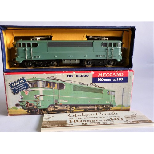 49 - HORNBY ACHO 6380 BB16009 Electric Loco (Black bogies). Excellent to Mint in an Excellent Picture Box...