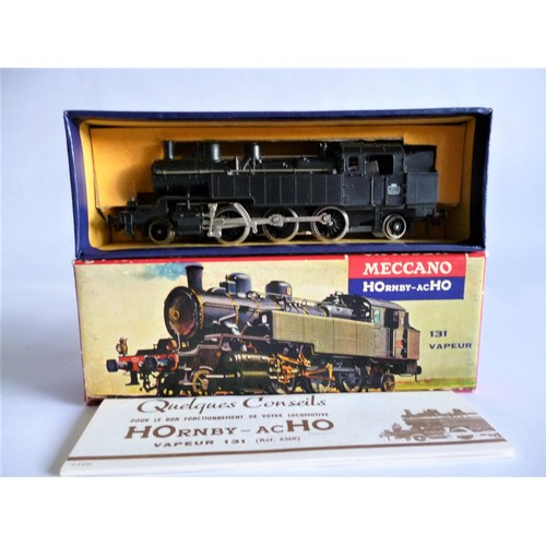 50 - HORNBY ACHO 6360 131 Steam Loco (small lights). Excellent to Mint in an Excellent to Mint Picture Bo...