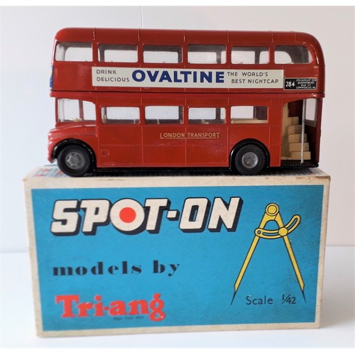 SPOT ON Models No.145 LT Routemaster bus. All original. Excellent Plus in an Excellent Box.