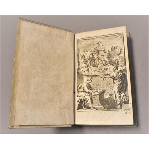 2 - Justinian .- Justinus, Marcus Juninius, Historiae Philippicae ex nova recensione Johannis Georgii Gr...