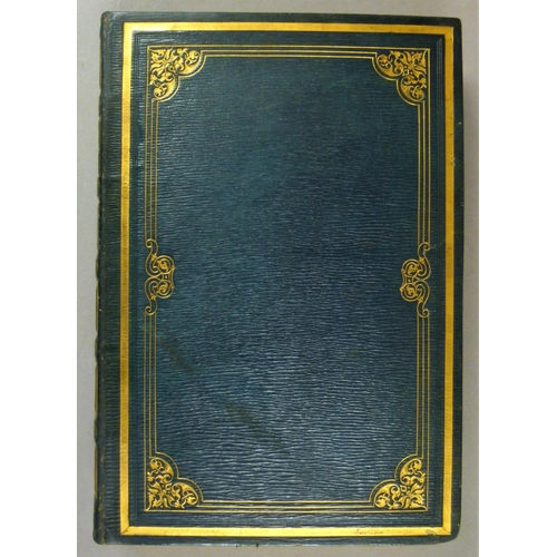 2 - Fine Binding.- Blore (Edward), THE MONUMENTAL REMAINS OF NOBLE AND EMINENT PERSONS�, 30 engraved pla...