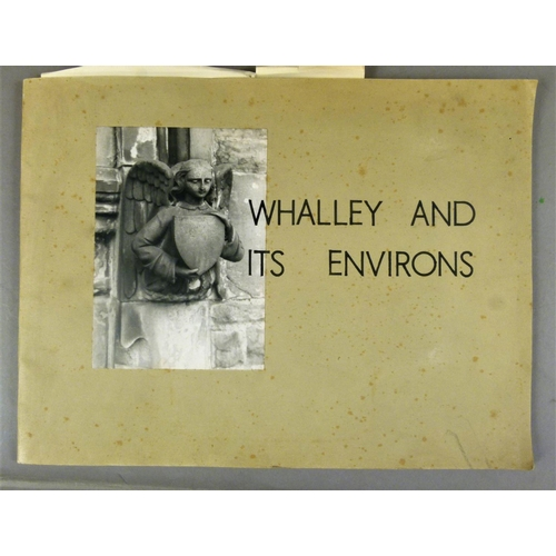34 - Lancashire Towns.- 28 mixed vols histories on Lancashire towns, 4to & folio, v.d....