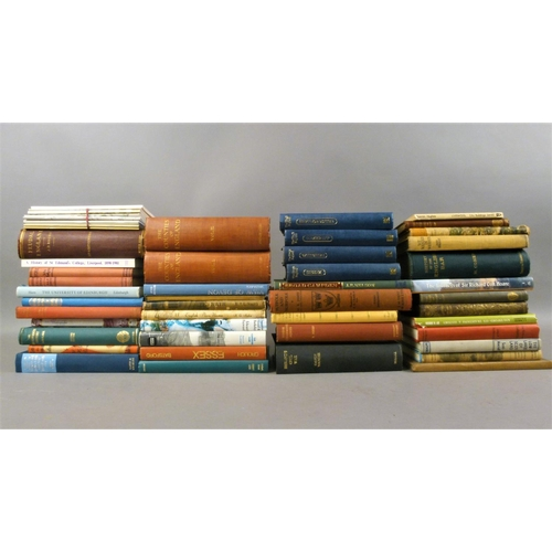 38 - UK Topography and Natural History.- 43 vols of mixed UK topography and natural history, v.s., v.d....