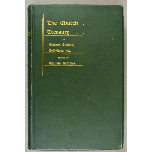 39 - Churches.- 15 vols on churches and church history, particularly in Lancashire, 4to & 8vo, v.d....