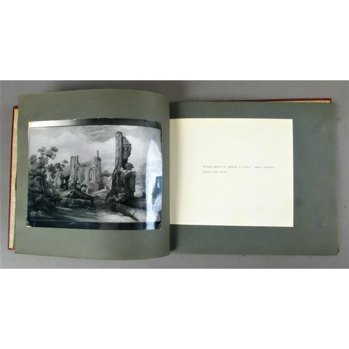 42 - .- AN ALBUM OF COMMUNICATIONS AND PHOTOGRAPHS RELATING TO ANTIQUES OWNED BY THE HUDLESTON FAMILY OF ...