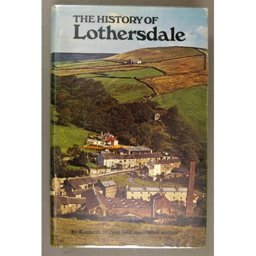 44 - Yorkshire.- 13 vols on Yorkshire topography and agriculture, 8vo, v.d....