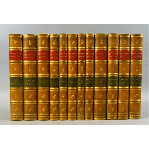 50 - .- THE BRIDGEWATER TREATISES ON THE POWER, WISDOM AND GOODNESS OF GOD, FIRST EDITIONS, 8 vol. in 12,...