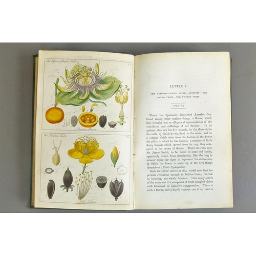 51 - Lindley (John), LADIES BOTANY: OR FAMILIAR INTRODUCTION TO THE STUDY OF THE NATURAL SYSTEM OF BOTANY...