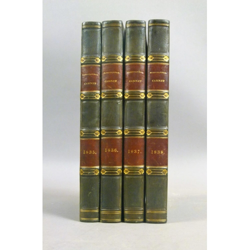 52 - Harrison (Joseph), THE FLORICULTURAL CABINET, AND FLORIST'S MAGAZINE, 4 vol., vols 3-6 only, 2 addit...
