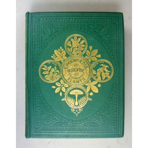 53 - Burnett (Gilbert Thomas), THE CYCLOPAEDIA OF USEFUL & ORNAMENTAL PLANTS�, 20 hand-coloured engraved ...