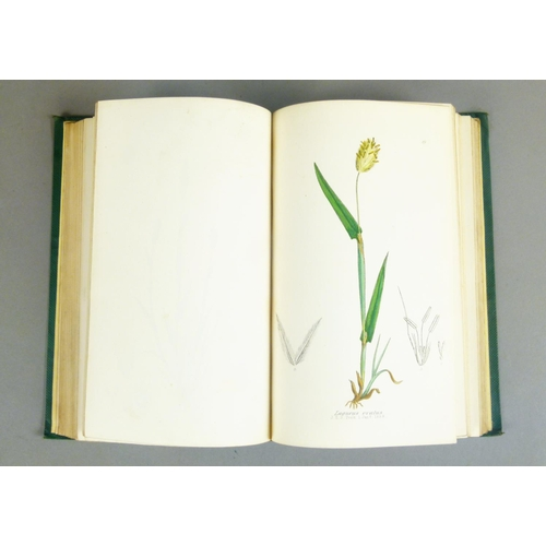 55 - Sowerby (John E.), THE GRASSES OF GREAT BRITAIN, 144 hand-coloured engraved plates, original publish...