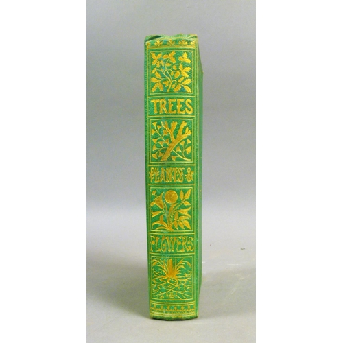 60 - Lee (Sarah), TREES, PLANTS AND FLOWERS�, 8 hand-coloured engraved plates, tissue-guards, ink ownersh...
