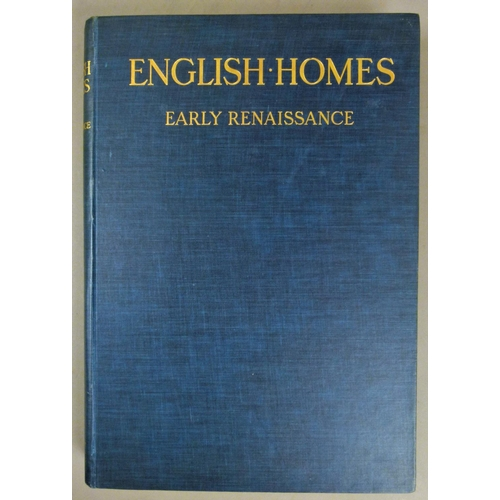9 - Latham (Charles), IN ENGLISH HOMES, mixed edition, 4 vol., publisher's cloth, folio, 1904-12...