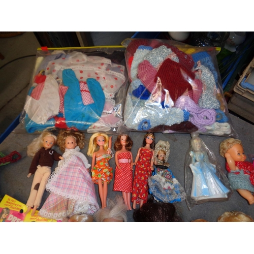 135 - Vintage Doll Collection & Clothing - inc Sindy Doll