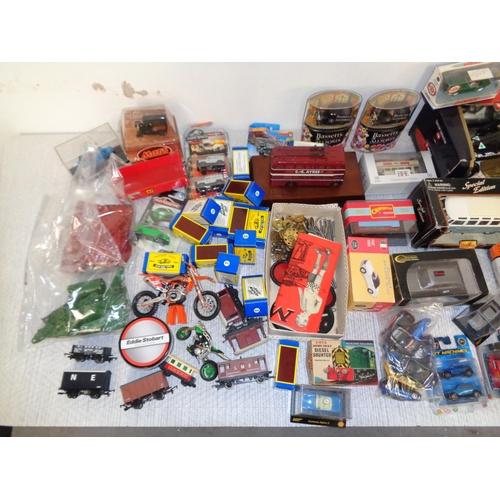 116 - Lot Of Boxed Model Cars, Trains & Meccano