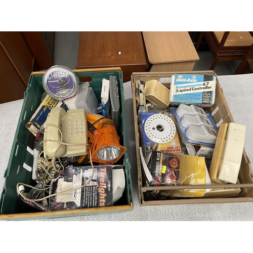 62 - Misc Household Items x 2 Crates