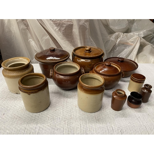 104 - EARTHENWARE COOLECTION