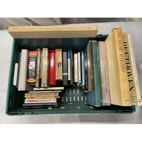 117 - CRATE OF ASSORTED BOOKS