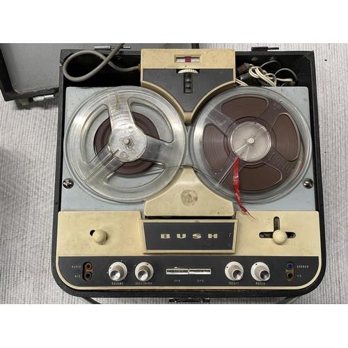 126 - RETRO BUSH TP50 REEL TO REEL RECORDER