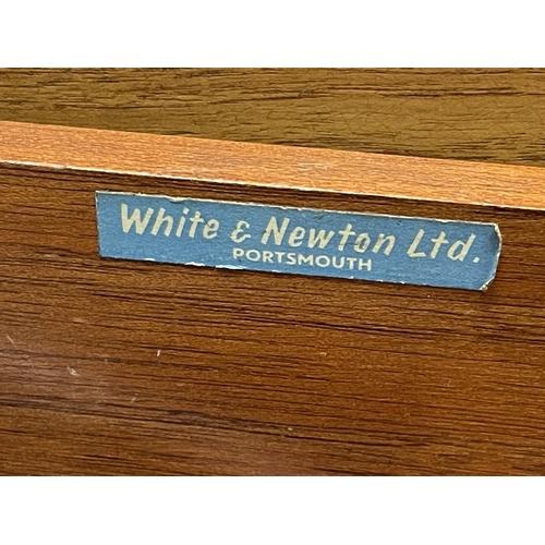 201 - WHITE & NEWTON TEAK SIDEBOARD 82