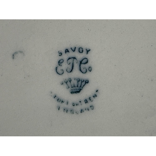 64 - SOUP/VEG TERRINES - FESTOON & SAVOY