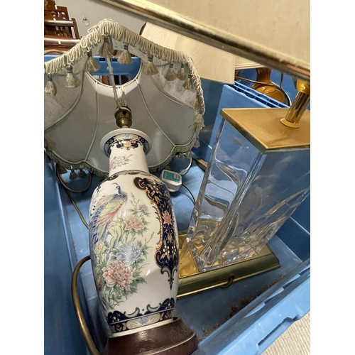 56 - TABLE LAMPS X 4