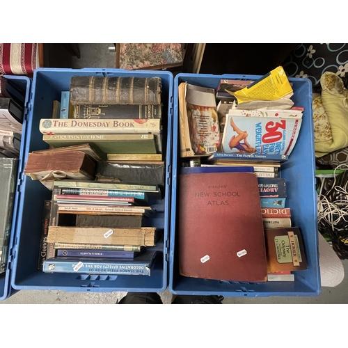 59 - 4 X CRATES OF BOOKS