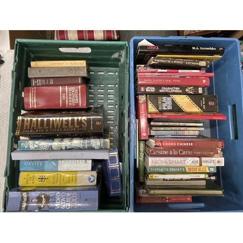 60 - 4 X CRATES OF BOOKS