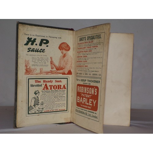 22 - early 20th century Mrs  Beeton's cookery book...