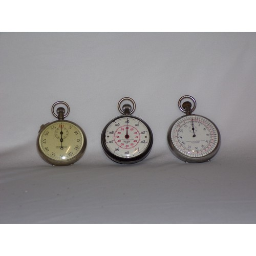 37 - 3x stop watches...