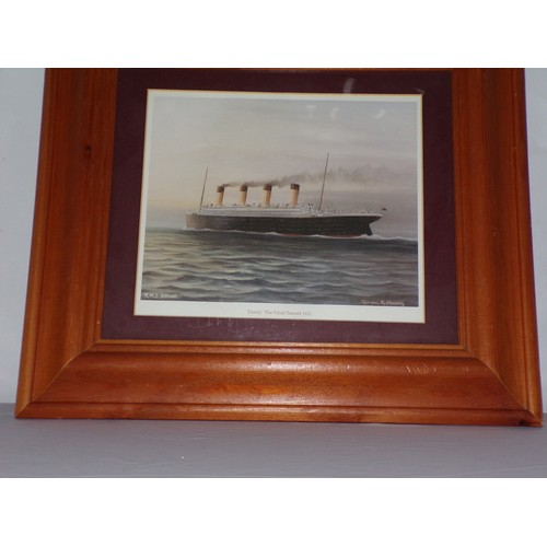 35 - Titanic print...