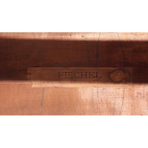 20 - Fischel occasional table art nouveau by Thonet Fishel lenth 23
