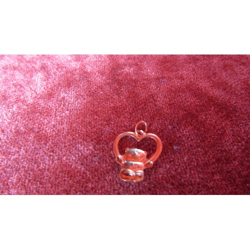 38 - GOLD STAMPED FOREVER FRIENDS CHARM...