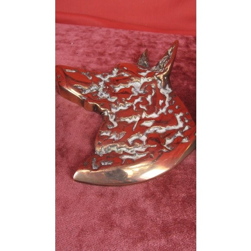 46 - 3 X COLLECTABLE BRASS...