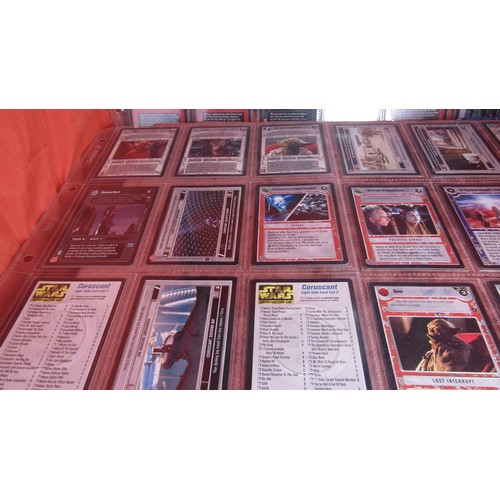 51 - 36 X  COLLECTABLE STAR WARS TRADING CARDS MINT CONDITION...