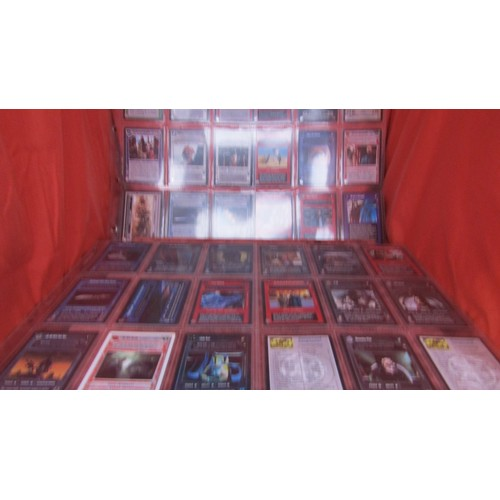 5 - 36 X  COLLECTABLE STAR WARS TRADING CARDS MINT CONDITION...