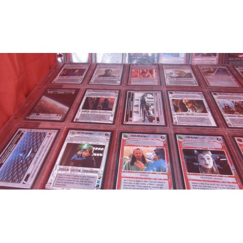 53 - 36 X  COLLECTABLE STAR WARS TRADING CARDS MINT CONDITION...