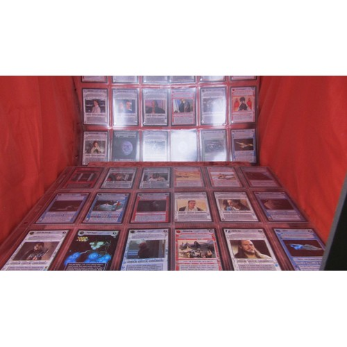 43 - 36 X  COLLECTABLE STAR WARS TRADING CARDS MINT CONDITION...