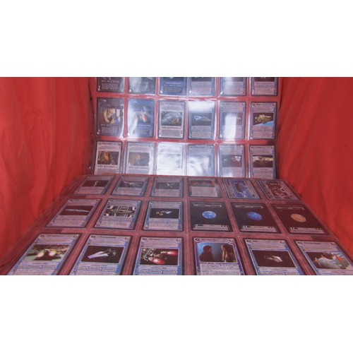 12 - 36 X  COLLECTABLE STAR WARS TRADING CARDS MINT CONDITION...