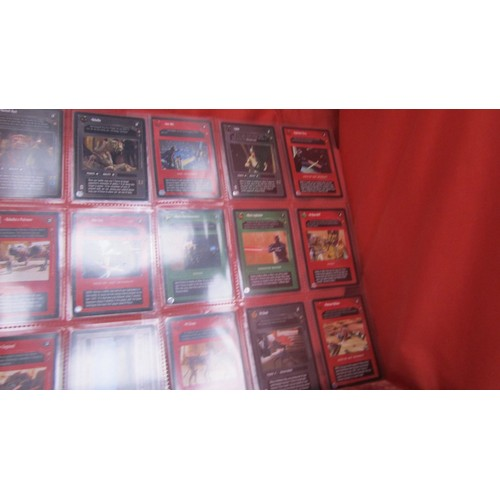 27 - 36 X  COLLECTABLE STAR WARS TRADING CARDS MINT CONDITION...