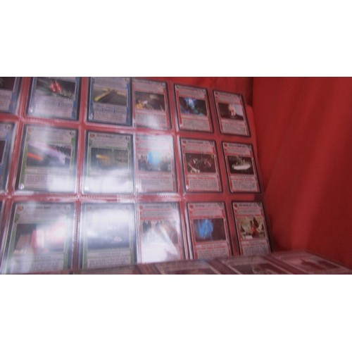 59 - 36 X  COLLECTABLE STAR WARS TRADING CARDS MINT CONDITION...