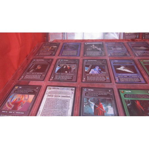 34 - 36 X  COLLECTABLE STAR WARS TRADING CARDS MINT CONDITION...